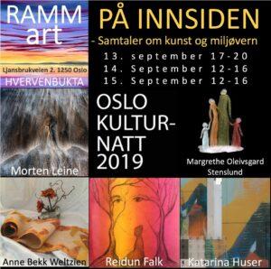 Oslo kulturnatt i Hvervenbukta på RAMM-art