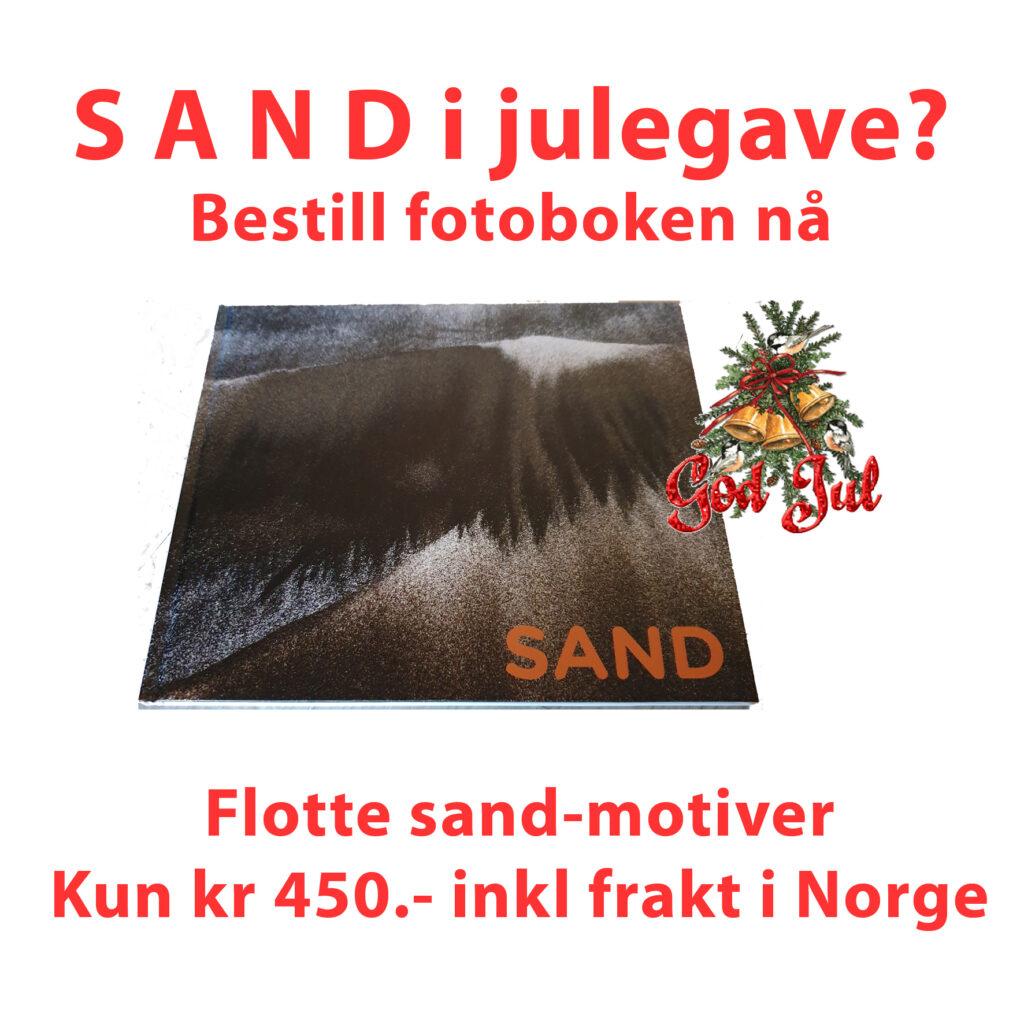 bestill sand-fotoboken til jul